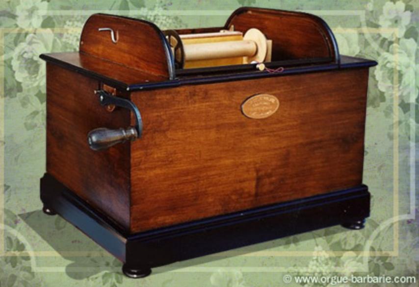 orgue de barbarie portable