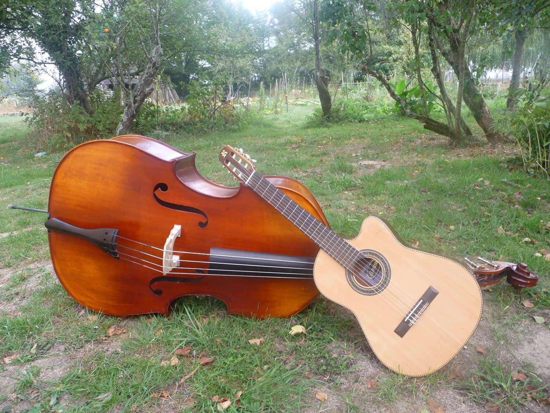 Contre basse et violon